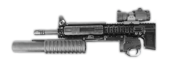 THOR M203 RAIL MOUNT 40MM LAUNCHER W/ 9″