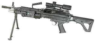 THOR Light Belt-Fed Machine Gun 7.62 NATO